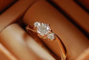 オリジナルの婚約指輪♪