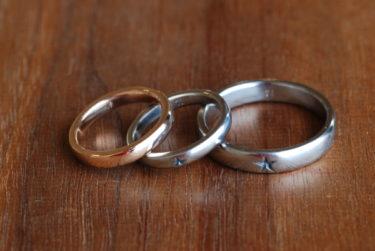 自分たちで作るチタンの結婚指輪♪