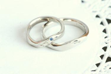 オーダーのカワイイ結婚指輪♪