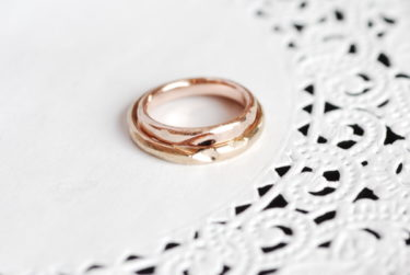 自分で作る手作り感満載の結婚指輪♪
