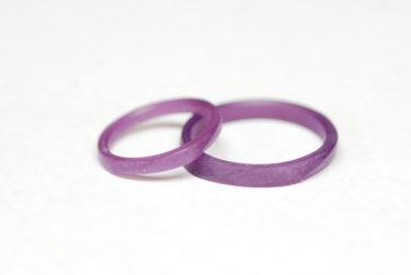 自分たちで作る結婚指輪♪製作中!!!